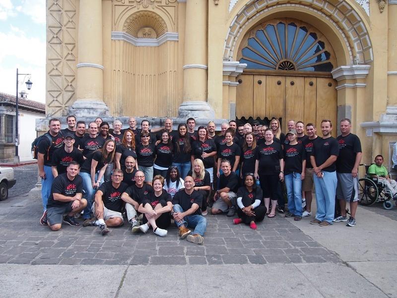 Operation Walk Syracuse 2016 team