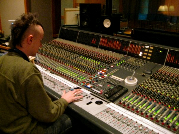 Mixing at Bennett Studios