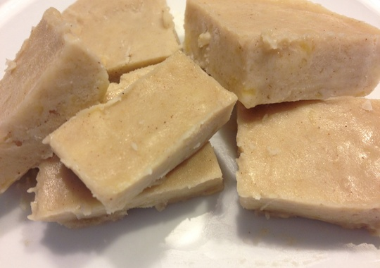 Maple Banana Fudge