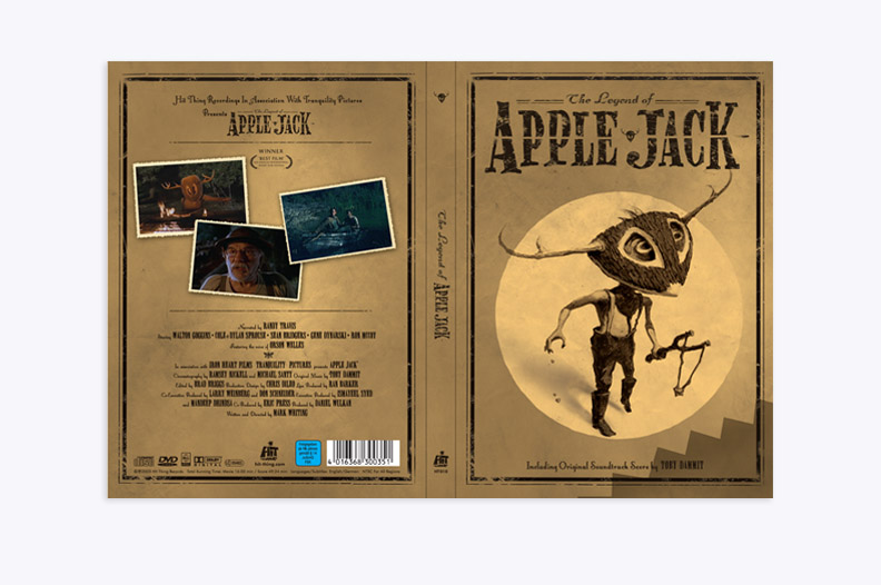 The Legend of Apple Jack Soundtrack