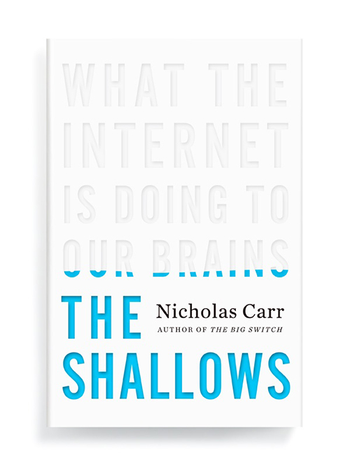 Ben Wiseman cook cover design What the Internet is Doing to Our Brains