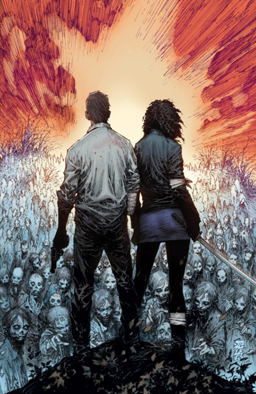 The Walking Dead Illustration