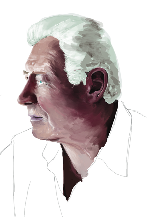 Portrait of my dad - Working Progress
