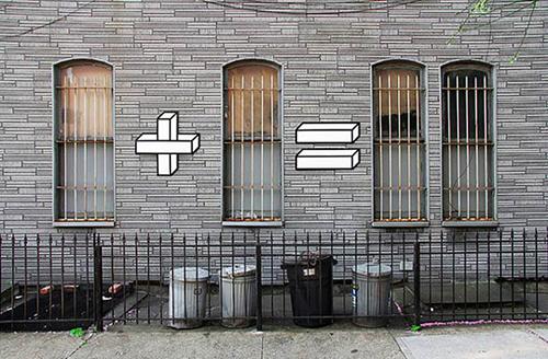 Mathematic Street Art by Aakash Nihalani