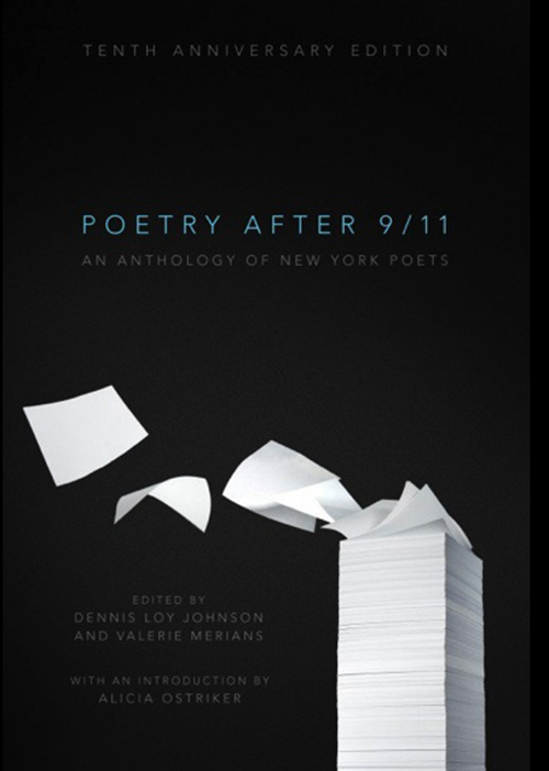 Book cover - Poetry after 911