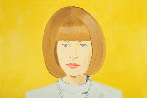 Anna Wintour - Alex Katz