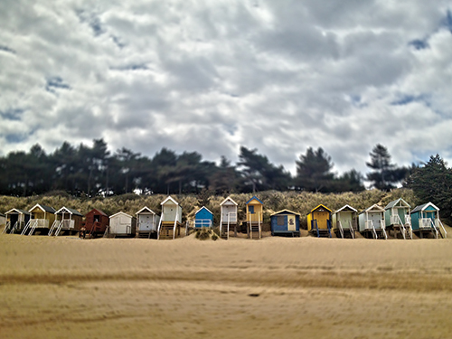 Wells Beach Huts, Norfolk