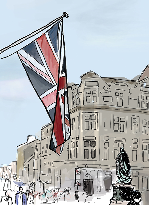 Union Jack, Windsor, England
