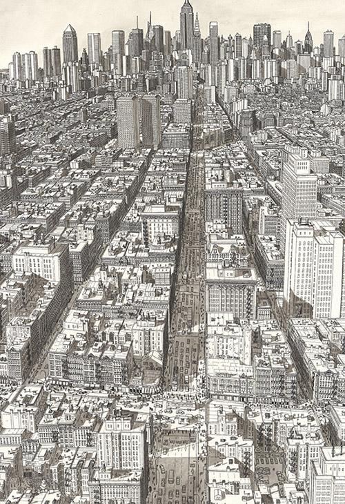 Manhattan Sketch