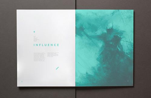 Vikings editorial design