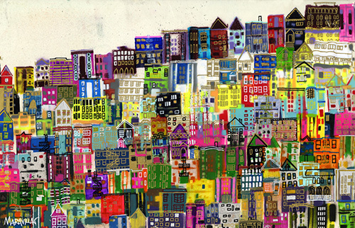 Hillside San Francisco - Jennifer Maravillas