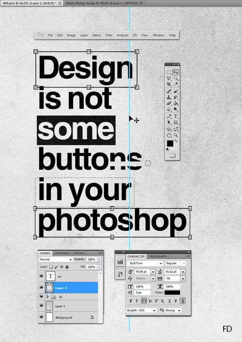 Photoshop - Faried Design