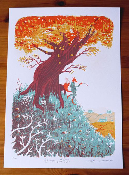 Fantastic Mr Fox Illustration - Army of Cats