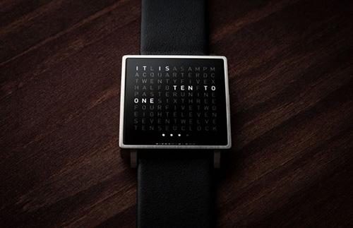 Qlocktwo W Watch