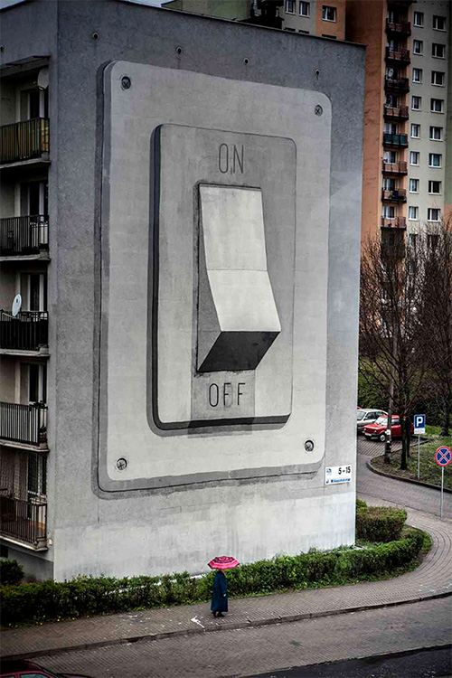 Street art - Escif