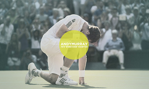 Tribute to tennis players