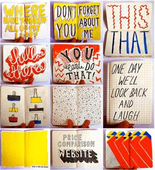 Jenni Spark's sketchbooks