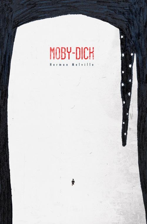Moby Dick cover -Umberto Scalabrini