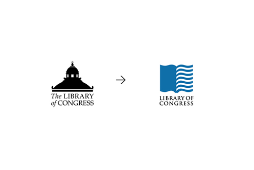 Library of Congress Logo -Chermayeff & Geismar & Haviv