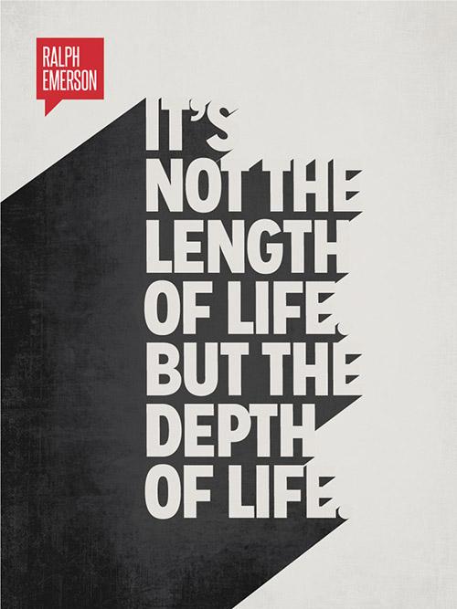 Type Poster - Ralph Emerson