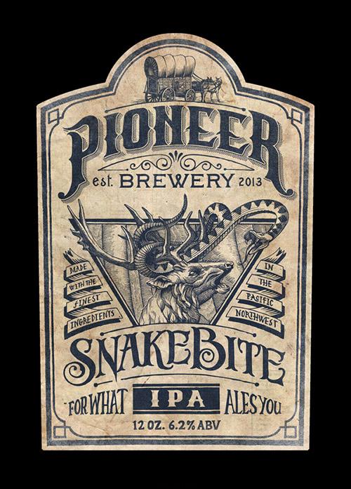 Pioneer IPA packaging - Jason Thornton