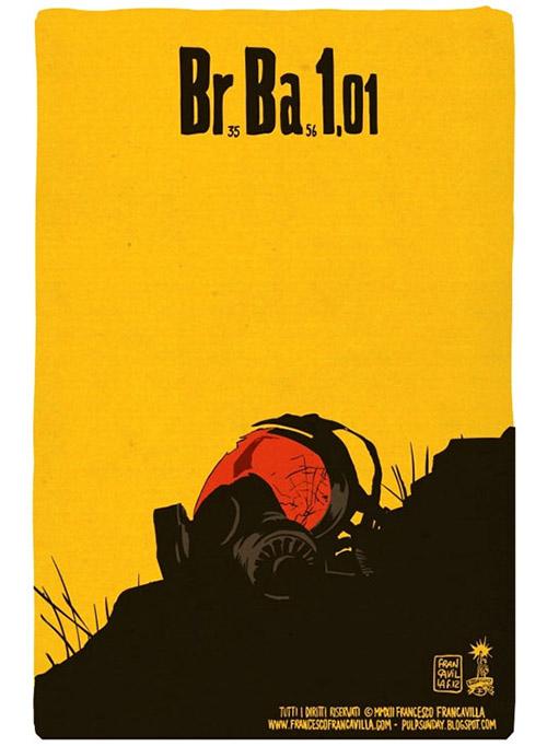 Breaking Bad episode posters -Francesco Francavilla