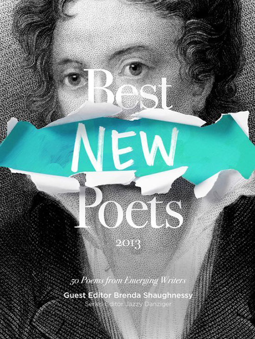 Best New Poets book cover design