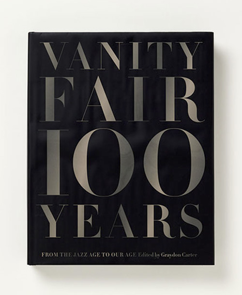Vanity Fair 100 Years cover - Pentagram