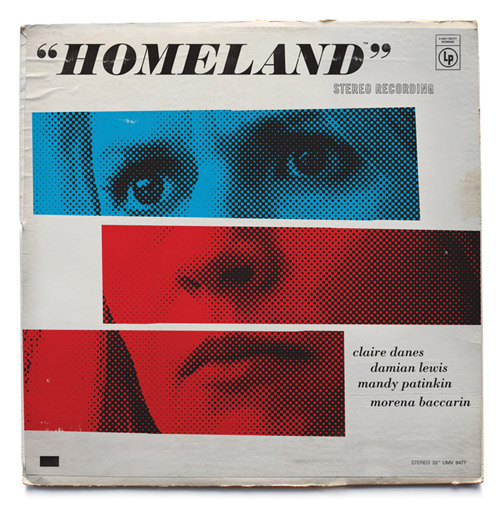 Homeland Jazz record covers - Mattson Creative