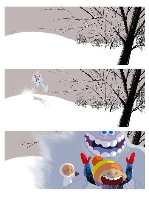 Christmas card - Stéphane Kardos