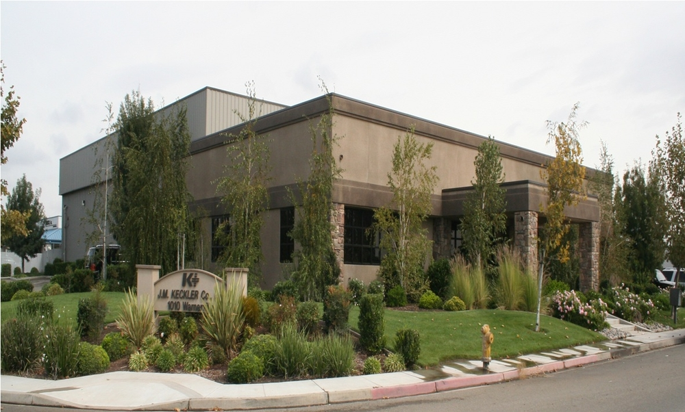 J.M. Keckler Medical Co. office & warehouse in Northern California.