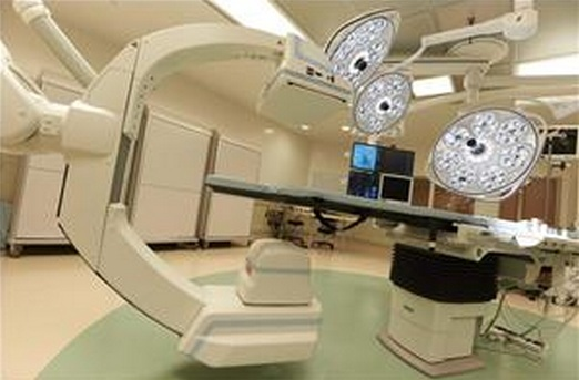 Skytron Surgical Lights with Siemens Zeego Angiography System