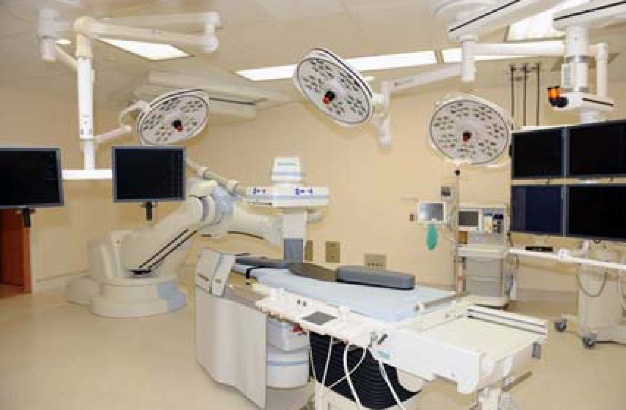 Hybrid Operating Room - Skytron Lights, Skytron Boom, Skytron Monitors, Siemens Zeego Imaging System