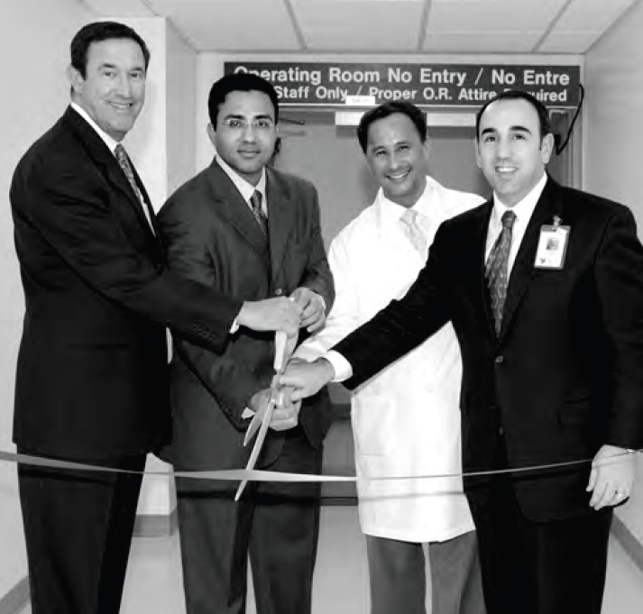 Hybrid Operating Room - Ribbon Cutting, Surgeons & Hospital Administration