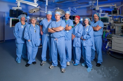 Hybrid Operating Room Nurses and Staff