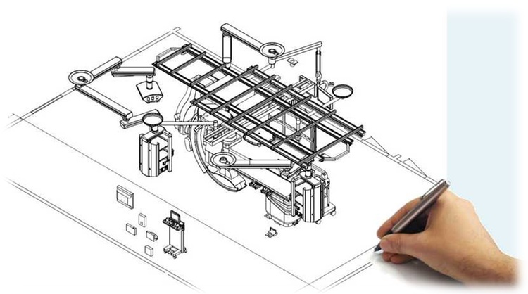 Hybrid OR 3D Designs Layouts Hybrid Operating Rooms Hybrid