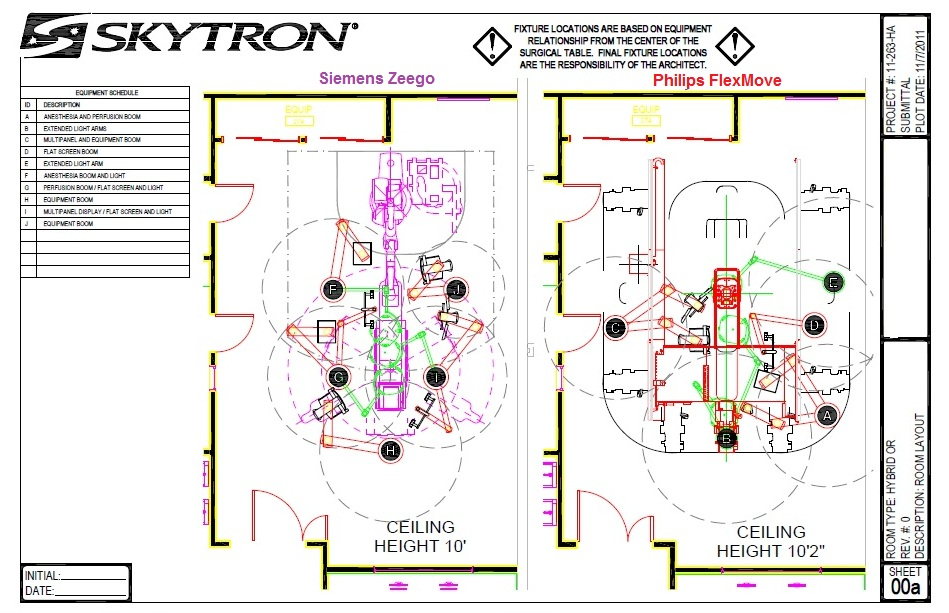 Hybrid Or 3d Designs Layouts Hybrid Operating Rooms