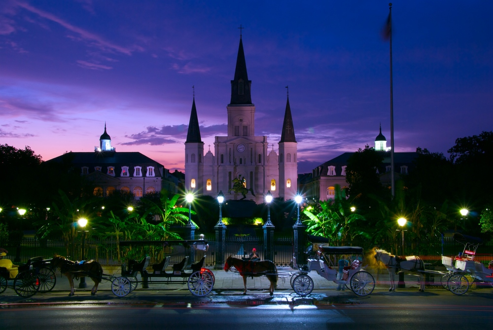 Night Falls on Jackson Square.jpg