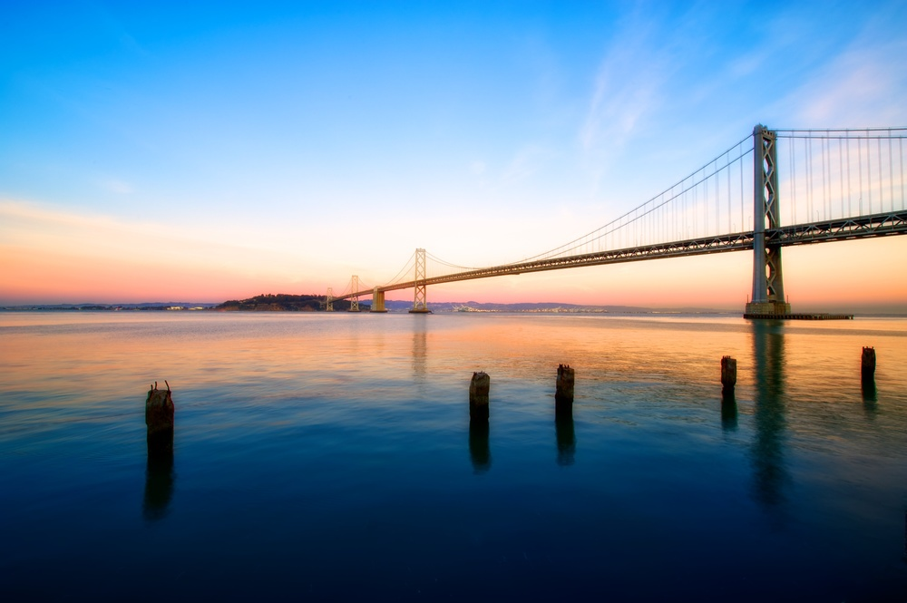 Sunrise on the Bay Bridge.jpg