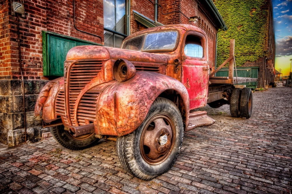 Rusty old truck in Toronto — Nomadic Pursuits - a blog by Jim Nix