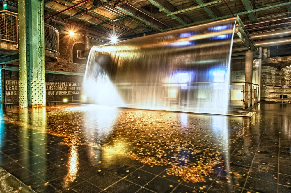 The Guinness Brewery Waterfall Nomadic Pursuits A Blog