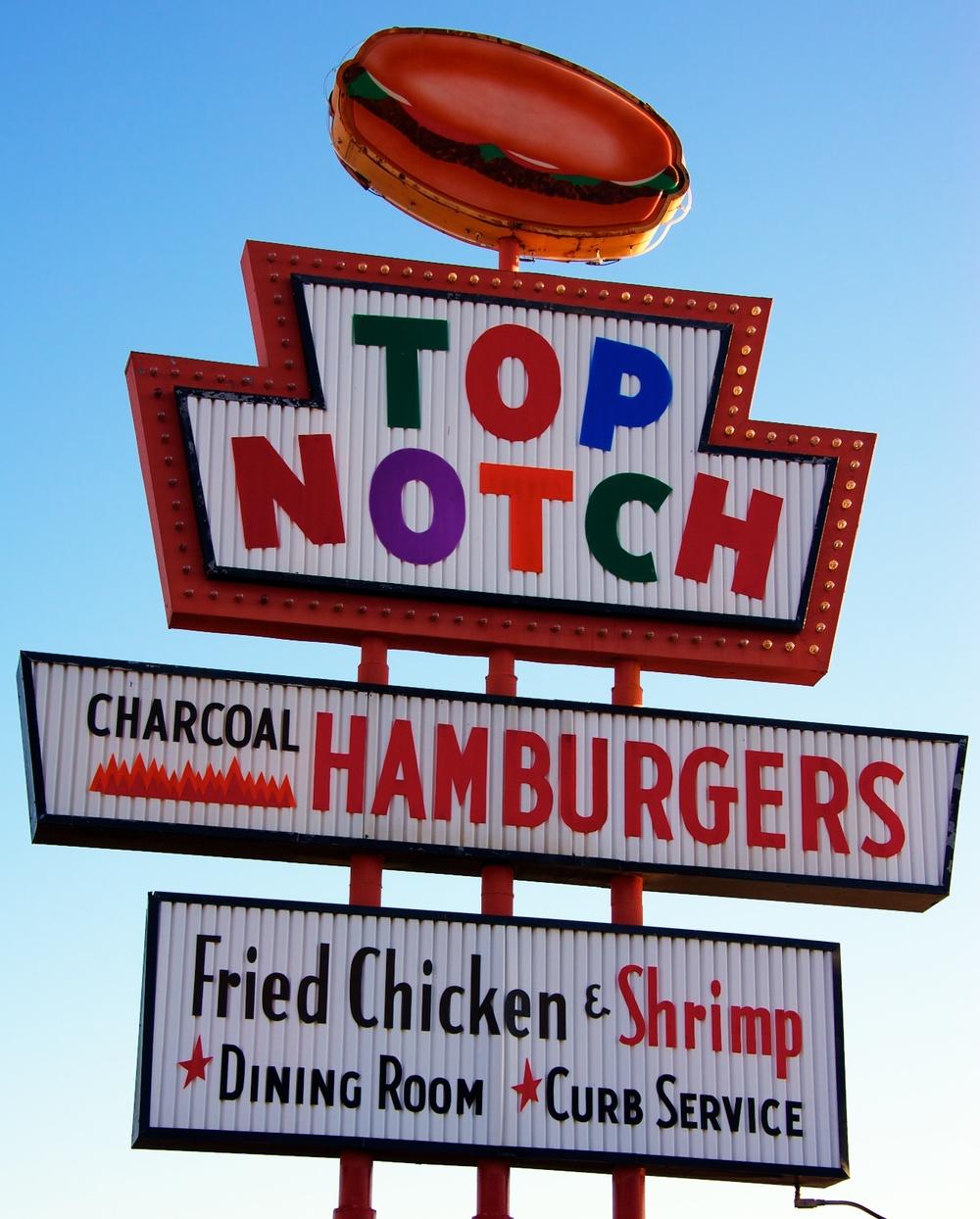 Top Notch burgers — Nomadic Pursuits - a blog by Jim Nix