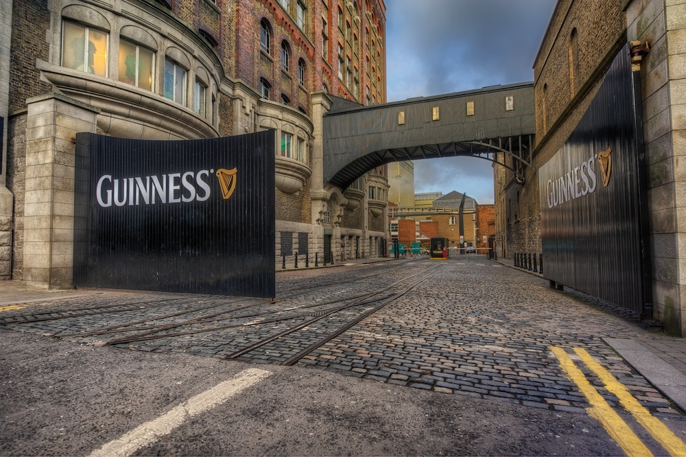 The Guinness Brewery Gate Nomadic Pursuits