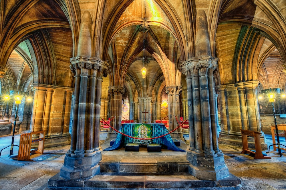 Car Lot For Sale >> The crypt under Glasgow Cathedral — Nomadic Pursuits