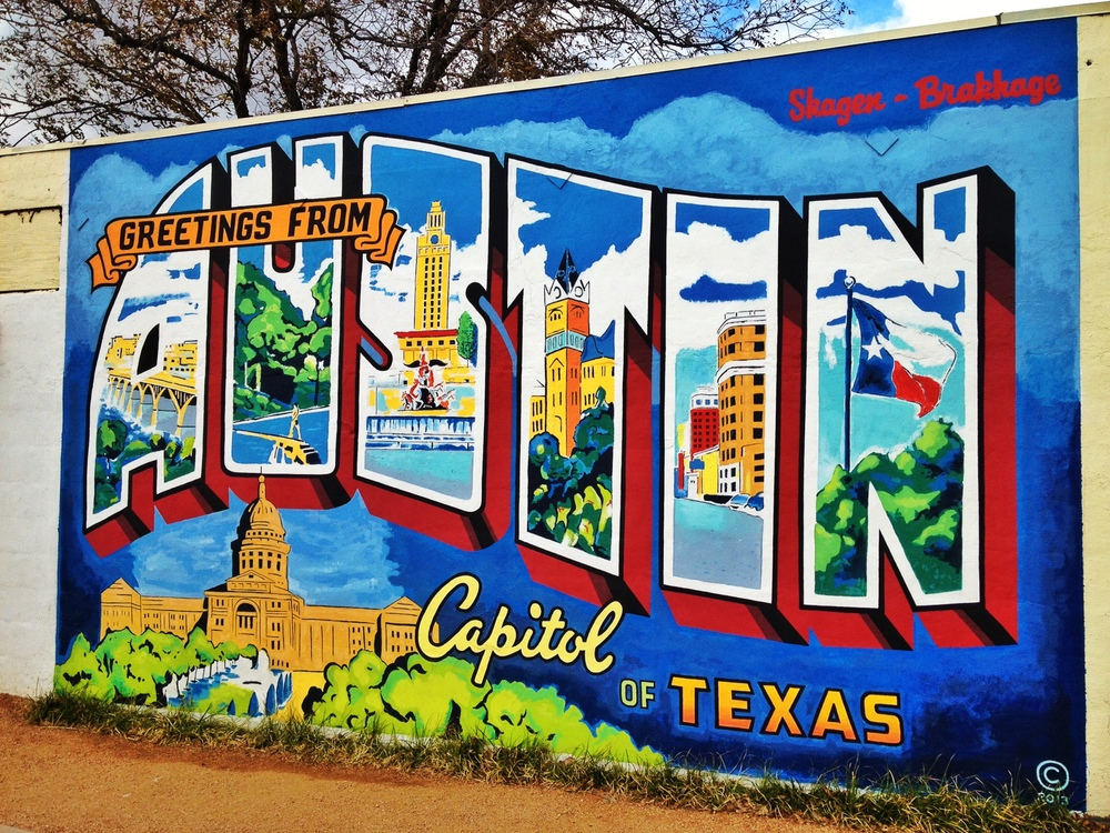 Top photo spots in austin nomadic pursuits for Austin mural location