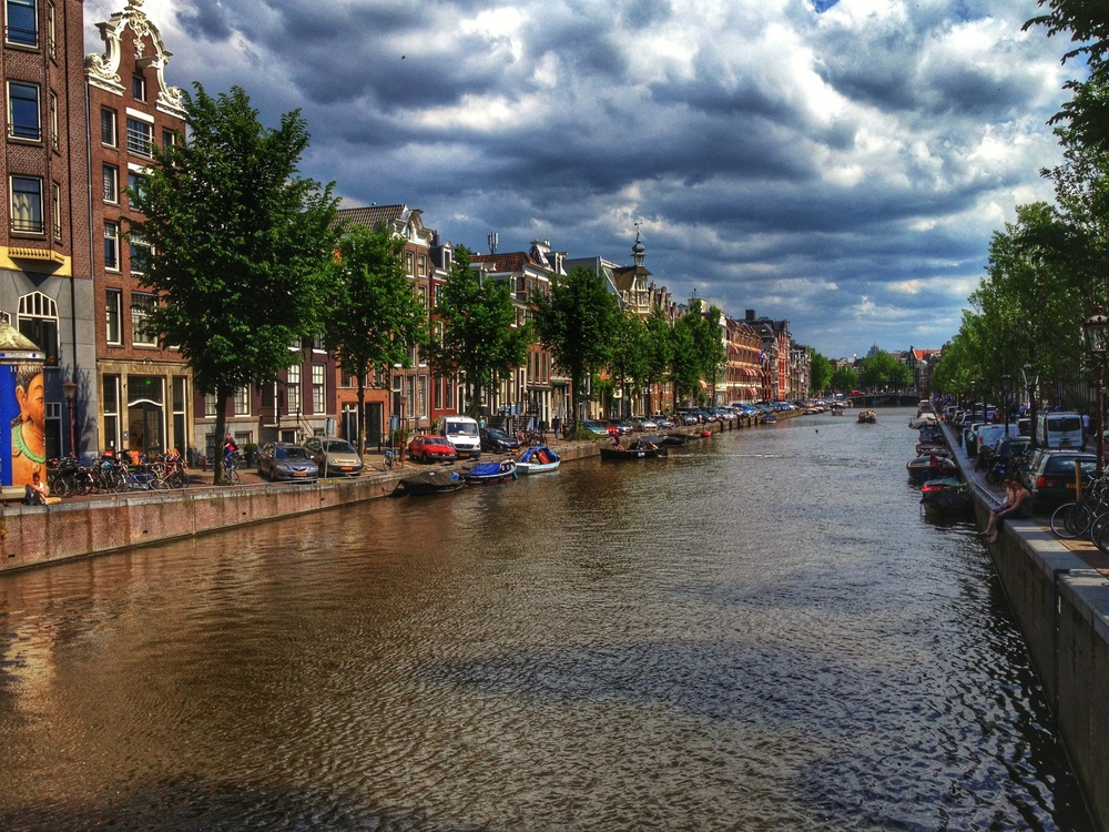 Had some great clouds in Amsterdam one afternoon!