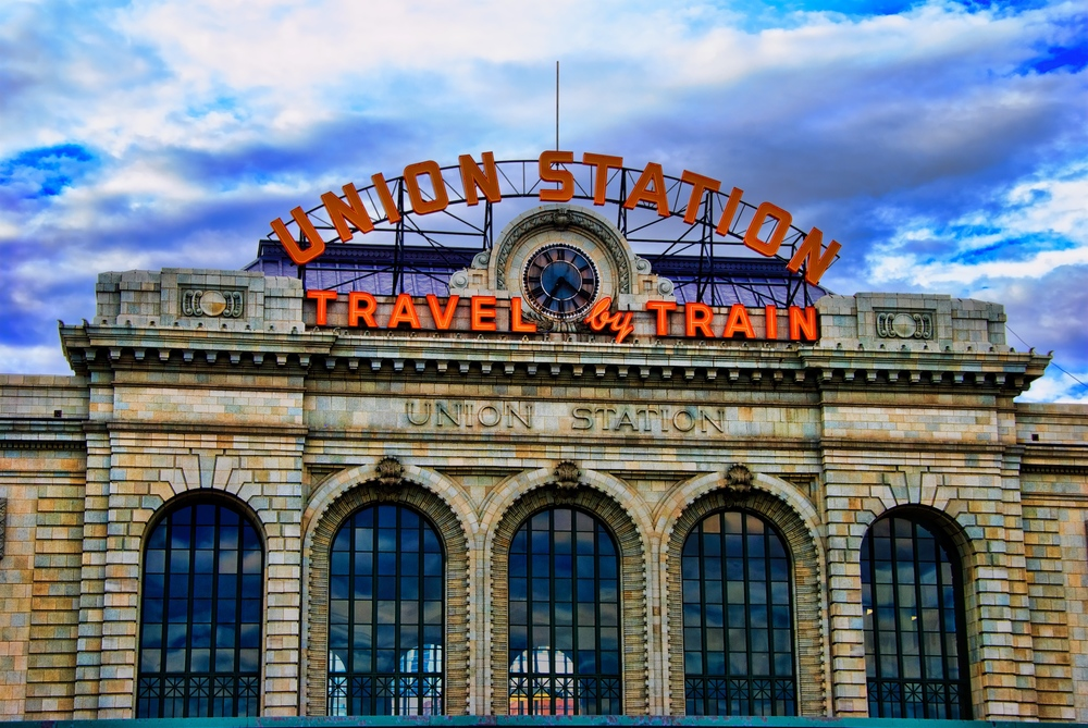 This is the facade of Union Station in Denver, which is beautiful.  But the rest of these shots are from Europe.