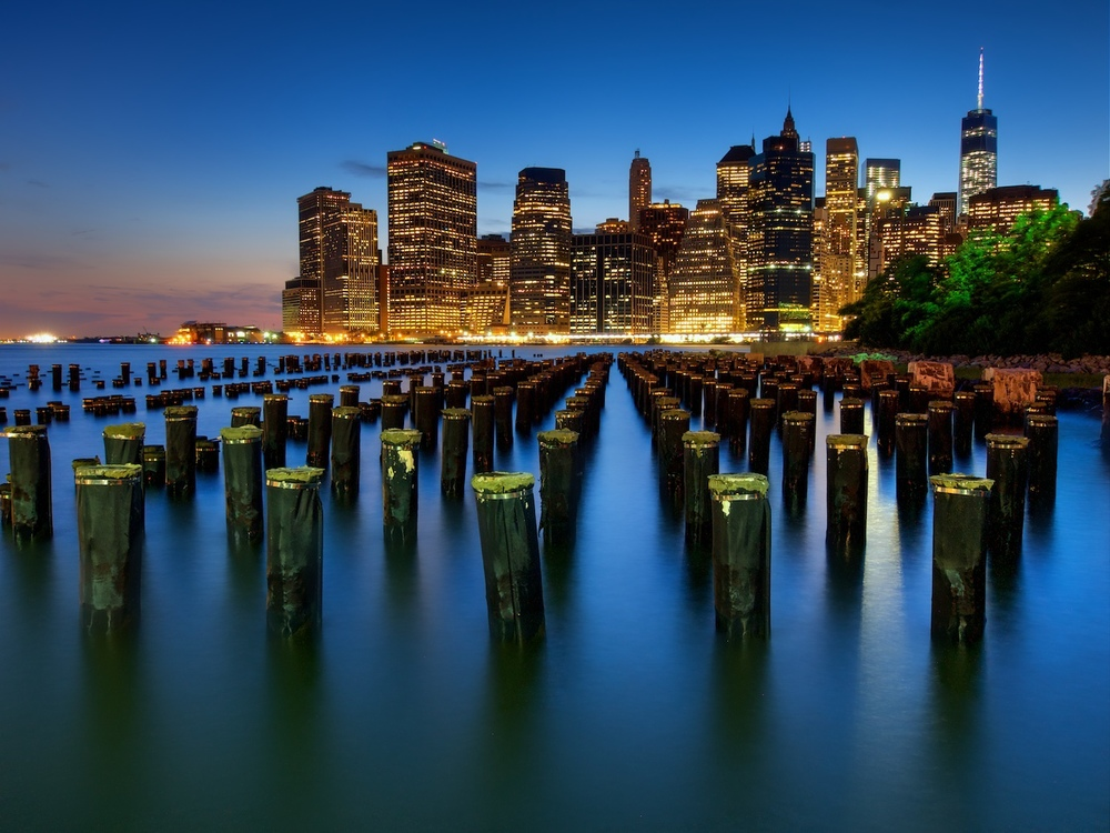 The skyline of NYC, but you probably already knew that.