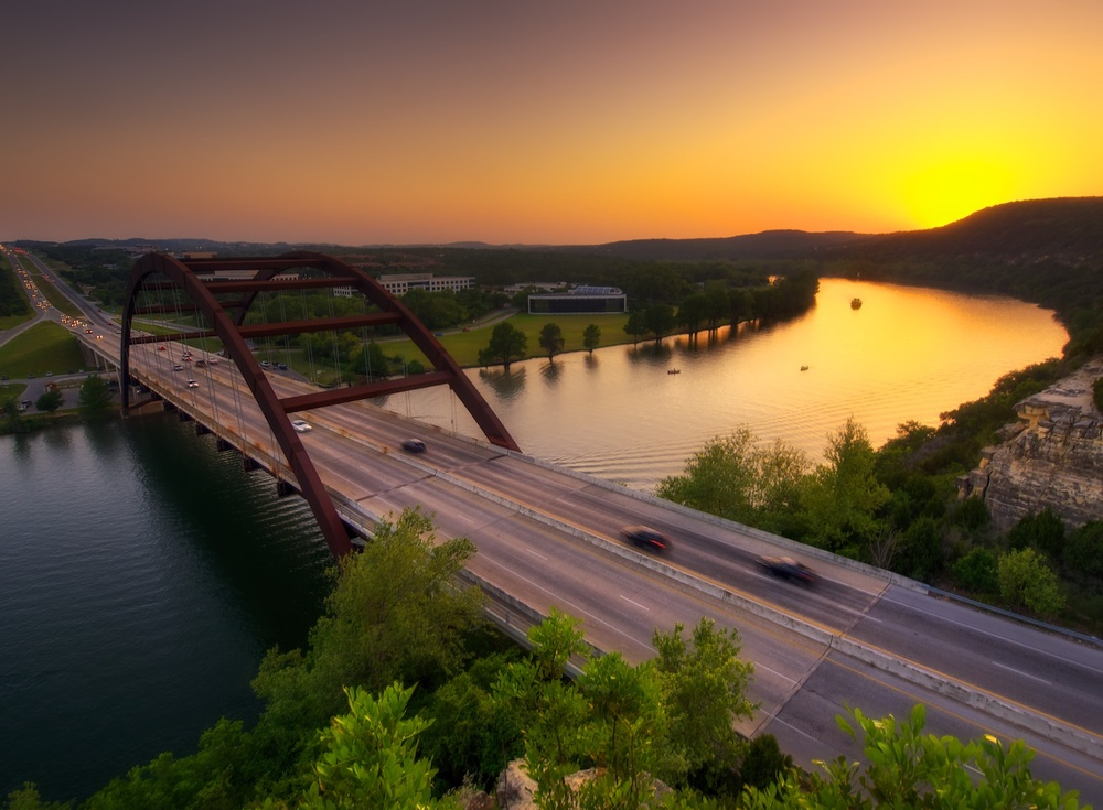 one of my very first outings this year with my olympus mirrorless camera - shooting sunset at the loop 360 bridge here in austin.  Love this spot!