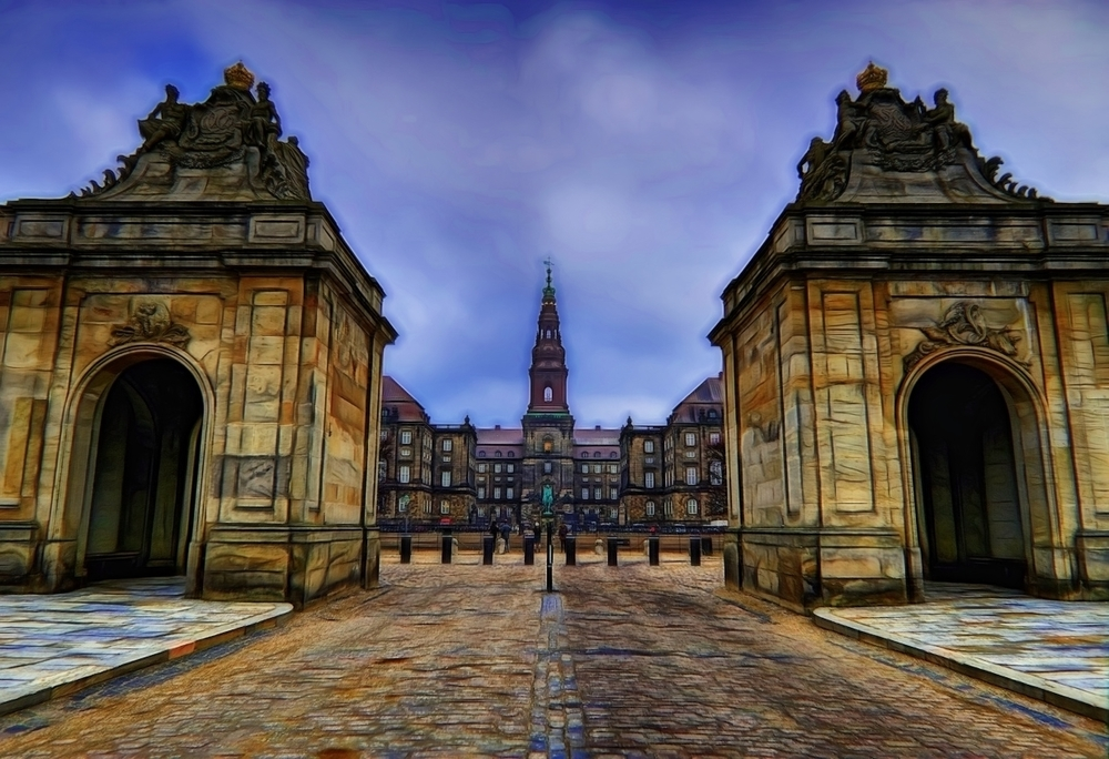 one of my current favorite shots that i edited with topaz glow - this is the entry to christiansborg palace in copenhagen - shot last march.